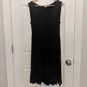 Anthropologie Girls From Savoy Dress Black L